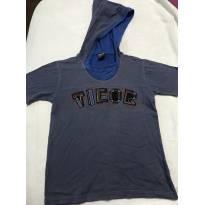 Camiseta Tigor com capuz - 4 anos - Tigor T.  Tigre