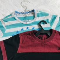 Duas camisetas ( 1 Nico Boco e 1 Hot Whells) - 5 anos - Nicoboco e Hot Wheels
