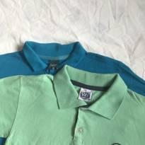 Duas camisetas polo - 6 anos - Sem marca