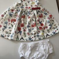 Vestido Florido Teddy Boom - 0-3 meses - 0 a 3 meses - Teddy Boom