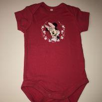 Body Minnie Baby Disney - 0 a 3 meses - 0 a 3 meses - Disney