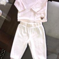 Conjunto Blusa e Calça Veludo Carter's - 9 Meses - 9 meses - Carter`s