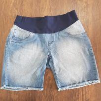 Bermuda jeans para mamães - M - 40 - 42 - Megadose