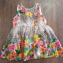Vestido floral Marisol - 2 anos - Marisol