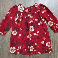 Vestido Veludo florido GAP