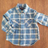Camisa flanela Ralph Lauren - 2 anos - Ralph Lauren
