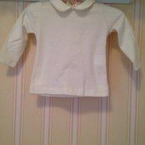 Camiseta Pagão Creme - 6 a 9 meses - Noruega Baby