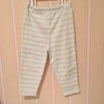 Calça Listrada Verde - Carter`s - 18 meses - Carter`s