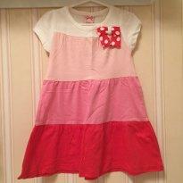 Vestido Tons de Rosa - 1 ano - Poim
