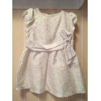 Vestido Branco Craquelado - LILICA RIPILICA - 18 meses - Lilica Ripilica