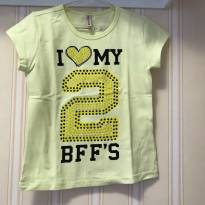 Camiseta I Love BFF