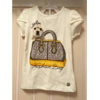 Camiseta Fashion Bag - 4 anos - playground