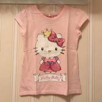 Camiseta Princesa Hello Kitty - 6 anos - Hello  Kitty
