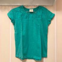 Camiseta Básica Verde Água - Zara - 3 anos - Zara