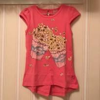Camiseta Pop Corn - Momi - 3 anos - Momi