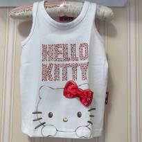 Camiseta Regata baby look -  Hello Kitty - 3 anos - Hello  Kitty