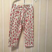 Calça Legging Animal Print - 3 anos - Have Fun