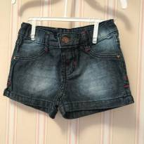 Shorts jeans - Hering - 4 anos - Hering Kids