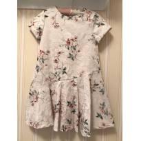 Vestido Rosê Floral - ZARA - 7 anos - Zara