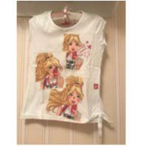 Camiseta Branca Barbie - 4 anos - Barbie