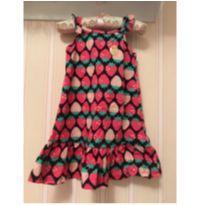 Vestido Moranguinhos - 3 anos - Kyly