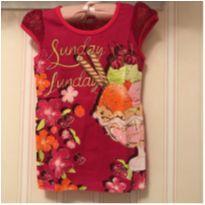 Camiseta Sunday - MOMI - 4 anos - Momi