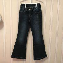 Calça Jeans Flare Escura - Hering - 6 anos - Hering Kids
