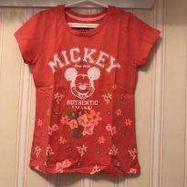 Camiseta Mickey Mouse - 4 anos - Disney