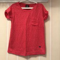 Camiseta Básica Pink - Hering - 2 anos - Hering Kids