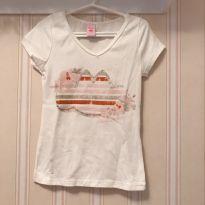 Camiseta Off White - Lilica Ripilica - 4 anos - Lilica Ripilica