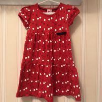 Vestido Vermelho Poás - Poim - 2 anos - Poim, Cherokee e Up Baby
