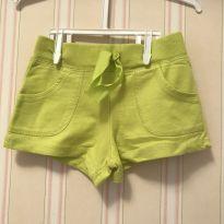 Shorts Verde Limão - Carter`s - 2 anos - Carter`s