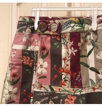 Shorts Saia Floral  - Zara - 8 anos - Zara
