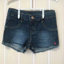 Shorts jeans tam 4 - Hering Kids - 4 anos - Hering Kids