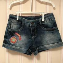 Shorts Jeans Flor Girl - PUC - 6 anos - PUC