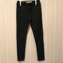 Calça Legging em Jeans Escuro - Fuzarka - 6 anos - Fuzarka