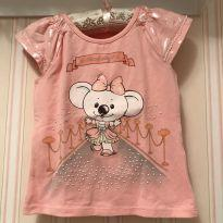 Camiseta Lilica Ripilica Rosa - 18 a 24 meses - Lilica Ripilica