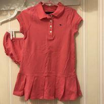 Vestido Rosa - Tommy Hilfiger - 3 anos - Tommy Hilfiger
