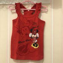 Camiseta Regata Minnie - 4 anos - Disney