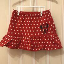 Shorts Saia Poás Minnie - 2 anos - Disney