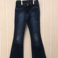 Calça Jeans Flaire - Hering - 8 anos - Hering Kids