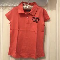 Camiseta Pólo Goiaba - Código Kids - 8 anos - Outros