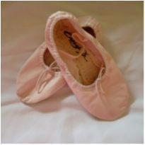 Sapatilha de Ballet Rosa - 18 - CAPEZIO