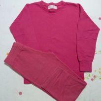 Conjunto de moleton basico rosa - 4 anos - Basic+ Kids