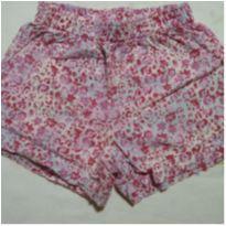Shorts florido rosa - 3 anos - Kidstok