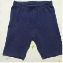 Shorts de algodão azul - 6 anos - Riachuelo