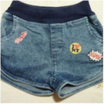 Shorts Jeans com elástico - 6 anos - Have Fun