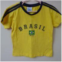 Camiseta do Brasil - 2 anos - Não informada