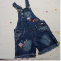 Macaquinho Jeans - 6 anos - AK Jeans