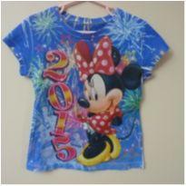 Camiseta Minnie 2015 - 4 anos - Disney